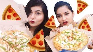 Pizza Challenge Ft. Cook With Monika - Did I Win? |  JSuper Kaur