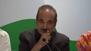 BJP-PDP Break Up in Jammu & Kashmir: AICC Press briefing at Congress HQ