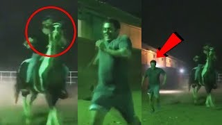 Salman Khan RUNS FASTER Than Horse, Training Session With Zaheer Iqbal