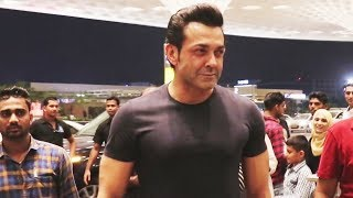 Bobby Deol LEAVES For IIFA Awards 2018, Spotted At Airport