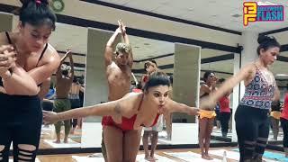 Rakhi Sawant Hot Yoga - International Yoga Day 2018