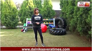 Savera Workouts Episode 73 : Let's get fit together