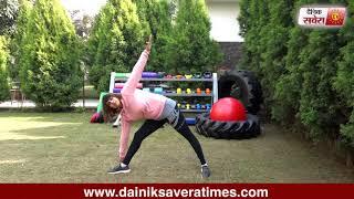 Savera Workouts Episode 74 : Let's get fit together