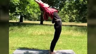 Kangna Ranaut Yoga Day Celebration - International Yoga Day 2018