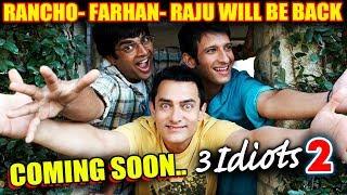 3 IDIOTS SEQUEL CONFIRMED | Aamir Khan, R Madhavan, Sharman Joshi | Rajkumar Hirani