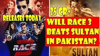 RACE 3 Releases In Pakistan On June 22 2018 I Will It Beat Sultan Lifetime Record?