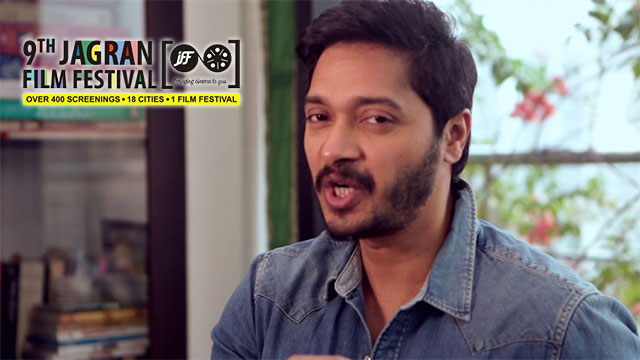 9th Jagran Film Festival 2018 Master talks by Shreyas Talpade for the brand makers