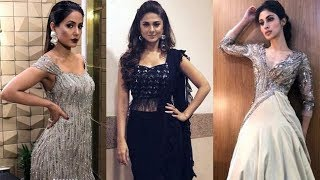 Top 10 Television Beauties Best Dressed At 11th Gold award 2018 - Comment Below