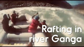 An adventurous Rafting in river Ganga