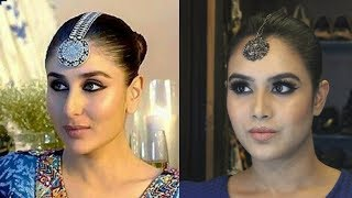 KAREENA KAPOOR INSPIRED MAKEUP LOOK | VEERE DI WEDDING | BHANGRA TA SAJDA | 2018