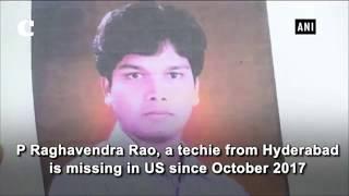 Hyderabad techie missing in US, father seeks EAM Swaraj's help