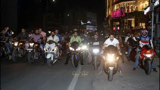 Hyderabad sports bikes meet up more the 25+ bikes