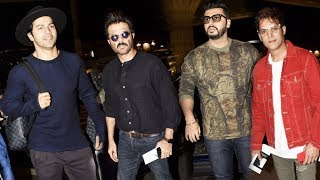 Bollywood Celebs LEAVE For Thailand | IIFA 2018 | Spotted At Mumbai Airport