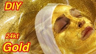 DIY 24kt Gold Primer & Gold Soap for Skin Whitening | Flawless Skin | JSuper Kaur