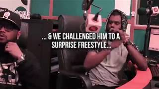Black Zang #FreestyleFriday Challenge at Planet Hip Hop 101.6FM