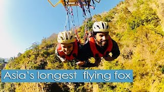 Asia's longest  adventurous ride - Flying Fox in Rishikesh