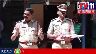 DHONE CI & SI COUNSELLING TO LOCAL ROWDY SHEETERS | Tv11 News | 17-02-2018