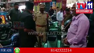 SAROOR NAGAR POLICE CHECKINGS IN DILSUKNAGAR | BOMB SQUAD & DOG SQUAD CHECKS| Tv11 News | 20-02-2018