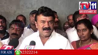 TALASANI SRINIVAS YADAV BHOOMI POOJA FOR HOSPITAL IN SANATHNAGAR    Tv11 News   22-02-2018