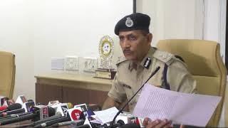 Surat Police Press Conference on Minor girl gang raped in Mahidharpura