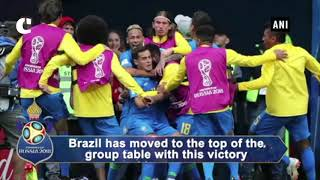 FIFA WC 2018: Brazil beats Costa Rica by 2-0