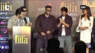 Varun Dhawan goofs around at IIFA pre-event