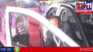 CM CHANDRABABU INAUGURATES ELECTRIC VEHICLES IN VISHAKA   Tv11 News   24-2-02-2018