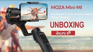Moza Mini mi Mobile Gimbal unboxing | Telugu Tech Tuts