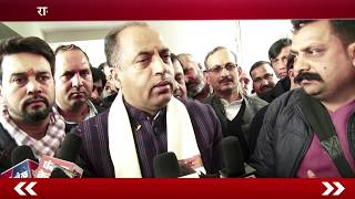 After becoming the Chief Minister Jairam Thakur arrived in Una