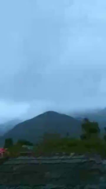 Snowfall on Higher Mountains