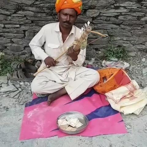 Listen to his instrument.. its peaceful and awesome.