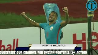 India vs Mauritius 2 - 1 Extended Highlights in HD