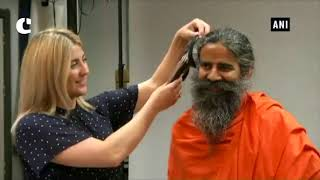 Baba Ramdev gives measurements for wax statue at Madame Tussauds London  video - id 341b929e7532cd - Veblr Mobile