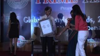 Shubi Husain: Primetime Global Lifestyle Award 2014
