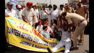 SRTC staff protest delay in release of pension