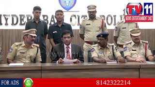 15 KGS GOLD RECOVERY | PRESS MEET AT CP OFFICE | Tv11 News | 06-03-2018