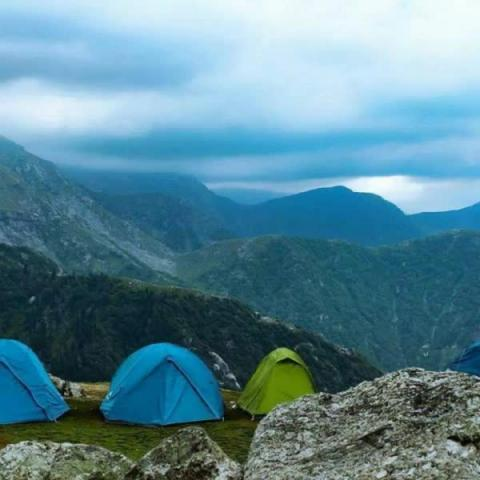 Triund Trek - In every walk with nature one receives far more than he seeks. - John Muir