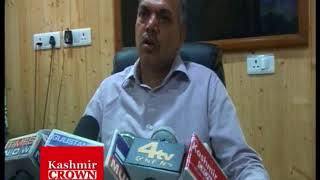 DIG CRPF Clarification  about firing by CRPF troops on students at nadihal baramulla(Rezwan Mir