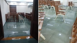 First rain leaves newly constructed court building waterlogged in Vadodara