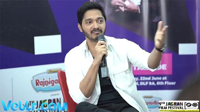Master class with Shreyas Talpade at 9th Jagran Film Festival - Group M Gurgaon