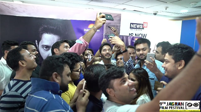 Master Class With Shreyas Talpade At 9th Jagran Film Festival - Interaction With Group M Employees Gurgaon