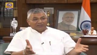 पिछले 4 वर्षों के दौरान श्री @narendramodi सरकार की उपलब्धियों और अन्य मुख्य मुद्दों पर खास बातचीत