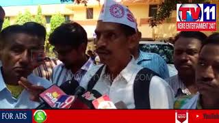 AAM ADMI PARTY LEADERS PROTEST IN SAROJINI HOSPITAL AT MEHDIPATNAM | Tv11 News | 14-03-2018