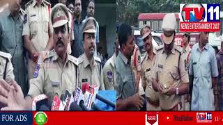 POLICE CORDON SEARCH OPERATION CONDUCTED IN BAHADURPURA & HUSSAINIALAM , HYD | Tv11 News | 21-03-18