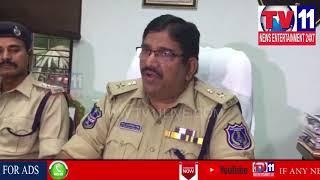 POLICE CHASED TRIPLE MURDER | DCP PRESS MEET IN LB NAGAR | Tv11 News | 21-03-2018
