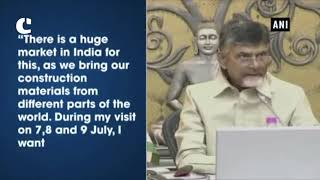 AP CM Naidu meets Singapore Minister, signs MoU in field of construction