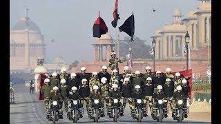 69वें गणतंत्र दिवस पर राष्ट्रपति की सलामी के साथ परेड शुरू,...
