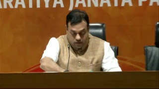Press Conference by Dr. Sambit Patra at BJP Central Office, New Delhi : 27.06.2018