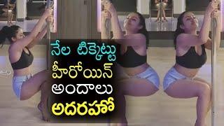 Nela Ticket Heroine Pole Dance Video | Ravi Teja Actress Malvika Sharma Pole dance | Top Telugu TV
