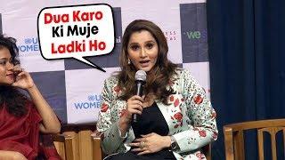 Mere Liye Ladka Hone Ki DUA Mat Karo Ladki Hone Ki DUA Karo, Sania Mirza Reaction